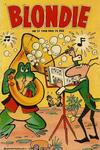 Cover for Blondie (Åhlén & Åkerlunds, 1956 series) #21/1958