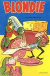 Cover for Blondie (Åhlén & Åkerlunds, 1956 series) #26/1957