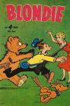 Cover for Blondie (Åhlén & Åkerlunds, 1956 series) #4/1959