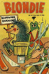 Cover for Blondie (Åhlén & Åkerlunds, 1956 series) #10/1958