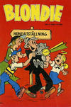 Cover for Blondie (Åhlén & Åkerlunds, 1956 series) #6/1958