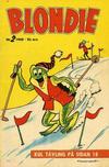Cover for Blondie (Åhlén & Åkerlunds, 1956 series) #2/1960