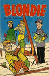 Cover for Blondie (Åhlén & Åkerlunds, 1956 series) #4/1960
