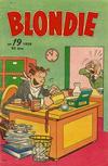 Cover for Blondie (Åhlén & Åkerlunds, 1956 series) #19/1959