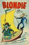 Cover for Blondie (Åhlén & Åkerlunds, 1956 series) #13/1959