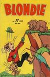 Cover for Blondie (Åhlén & Åkerlunds, 1956 series) #11/1959