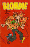 Cover for Blondie (Åhlén & Åkerlunds, 1956 series) #9/1959