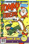 Cover for Tommy og Tigern (Bladkompaniet / Schibsted, 1989 series) #12/1990