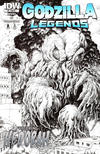 Cover Thumbnail for Godzilla Legends (2011 series) #4 [Cover RI by Arthur Adams (Sketch Version)]
