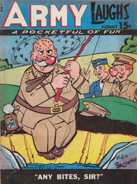 Cover for Army Laughs (Prize, 1941 series) #v5#5