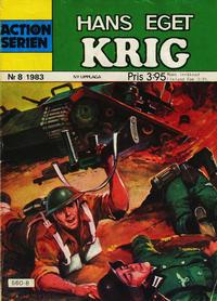 Cover Thumbnail for Actionserien (Pingvinförlaget, 1977 series) #8/1983