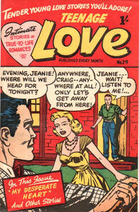 Cover Thumbnail for Teenage Love (Magazine Management, 1952 ? series) #29