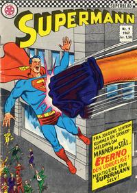 Cover Thumbnail for Supermann (Serieforlaget / Se-Bladene / Stabenfeldt, 1966 series) #9/1967