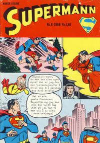 Cover Thumbnail for Supermann (Serieforlaget / Se-Bladene / Stabenfeldt, 1966 series) #8/1966
