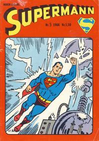 Cover Thumbnail for Supermann (Serieforlaget / Se-Bladene / Stabenfeldt, 1966 series) #5/1966