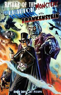 Cover Thumbnail for Return of the Monsters: Phantom Detective vs. Frankenstein (Moonstone, 2012 series)