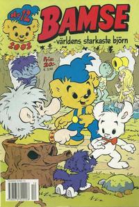 Cover Thumbnail for Bamse (Egmont, 1997 series) #12/2002