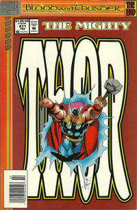 Cover Thumbnail for Thor (Marvel, 1966 series) #471 [Newsstand]