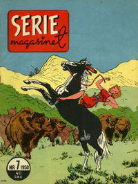 Cover Thumbnail for Seriemagasinet (Centerförlaget, 1948 series) #7/1950