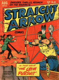 Cover Thumbnail for Straight Arrow Comics (Magazine Management, 1955 series) #8
