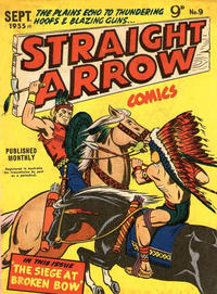 Cover Thumbnail for Straight Arrow Comics (Magazine Management, 1955 series) #9