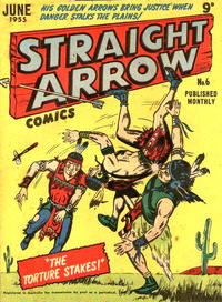 Cover Thumbnail for Straight Arrow Comics (Magazine Management, 1955 series) #6