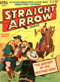 Cover Thumbnail for Straight Arrow Comics (Magazine Management, 1955 series) #4