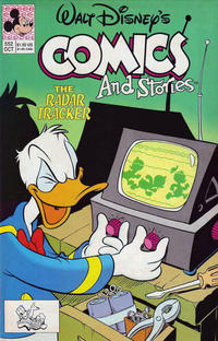 Cover Thumbnail for Walt Disney's Comics and Stories (Disney, 1990 series) #552 [direct]