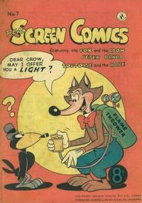 Cover Thumbnail for Real Screen Comics (K. G. Murray, 1953 ? series) #7