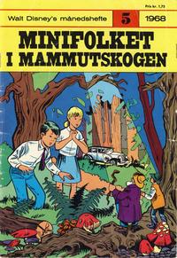 Cover Thumbnail for Walt Disney's Månedshefte (Hjemmet / Egmont, 1967 series) #5/1968