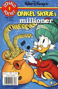 Cover Thumbnail for Donald Pocket (Hjemmet / Egmont, 1968 series) #1 - Onkel Skrues millioner [5. opplag]