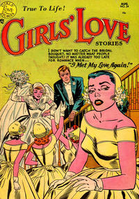 Cover Thumbnail for Girls' Love Stories (DC, 1949 series) #24