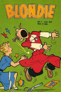 Cover Thumbnail for Blondie (Serieförlaget [1950-talet], 1951 series) #5/1955