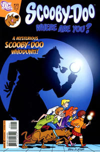 Cover Thumbnail for Scooby-Doo, Where Are You? (DC, 2010 series) #15