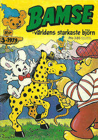 Cover Thumbnail for Bamse (Atlantic Förlags AB, 1977 series) #3/1979