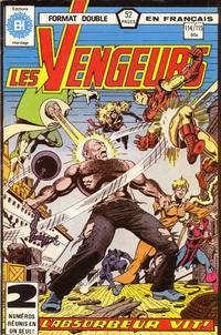 Cover Thumbnail for Les Vengeurs (Editions Héritage, 1974 series) #114/115