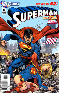 Cover Thumbnail for Superman (DC, 2011 series) #6