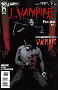 Cover Thumbnail for I, Vampire (DC, 2011 series) #6