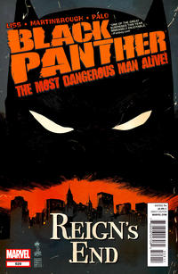 Cover Thumbnail for Black Panther: The Most Dangerous Man Alive (Marvel, 2011 series) #529