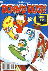 Cover Thumbnail for Donald Duck & Co (Hjemmet / Egmont, 1948 series) #6/2012
