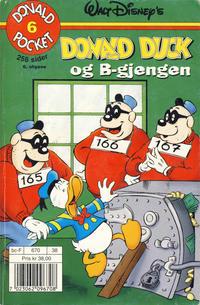 Cover Thumbnail for Donald Pocket (Hjemmet / Egmont, 1968 series) #6 - Donald Duck og B-gjengen [6. opplag]