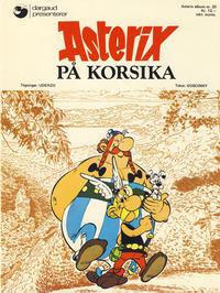 Cover Thumbnail for Asterix (Hjemmet / Egmont, 1969 series) #20 - Asterix på Korsika [1. opplag]