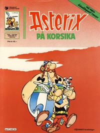 Cover Thumbnail for Asterix (Hjemmet / Egmont, 1969 series) #20 - Asterix på Korsika [3. opplag]