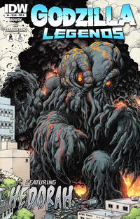Cover for Godzilla Legends (IDW, 2011 series) #4 [Cover A]