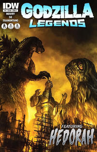 Cover Thumbnail for Godzilla Legends (IDW, 2011 series) #4 [Cover B by Chris Scalf]