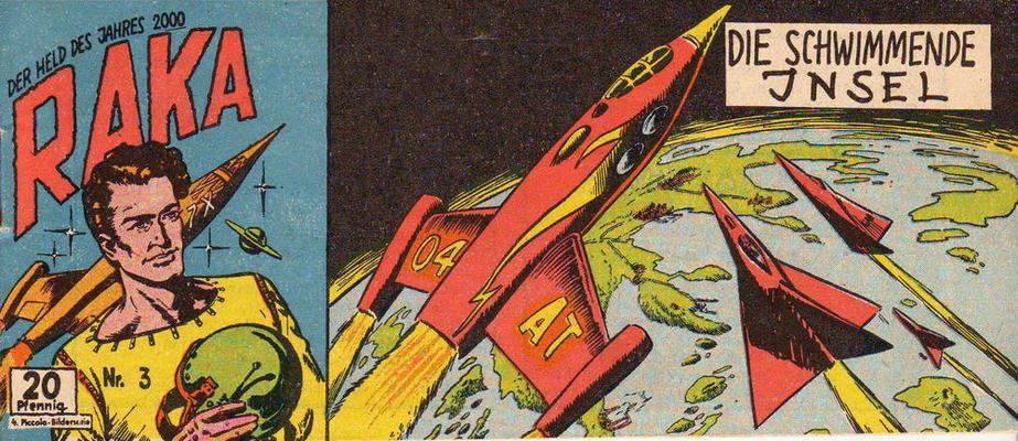 Cover for Raka (Lehning, 1954 series) #3