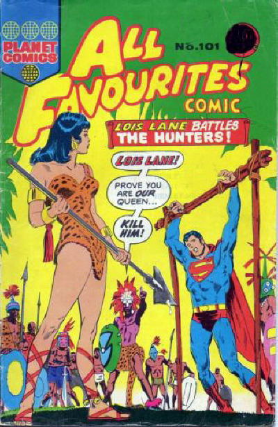 Cover for All Favourites Comic (K. G. Murray, 1960 series) #101