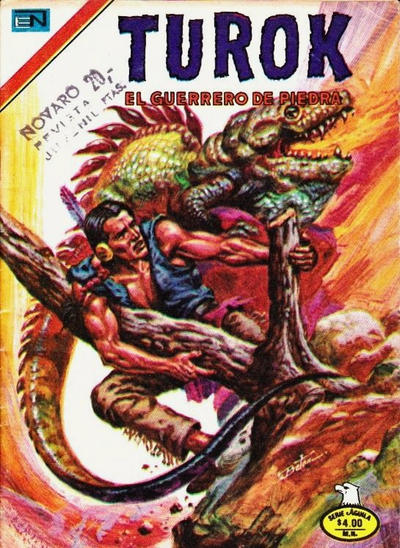 Cover for Turok (Editorial Novaro, 1969 series) #179