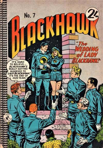 Cover for Blackhawk (K. G. Murray, 1959 series) #7