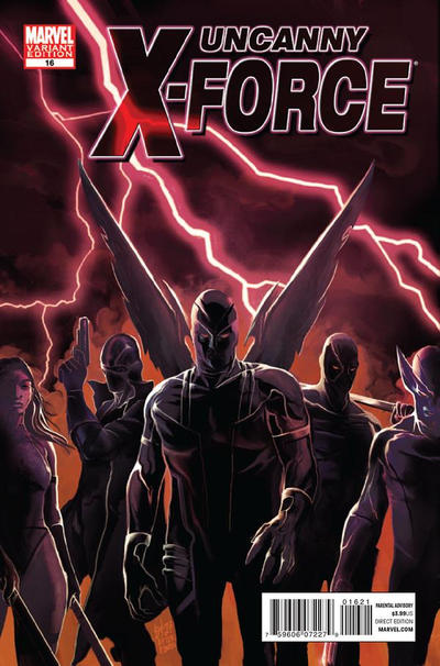 Cover for Uncanny X-Force (Marvel, 2010 series) #16 [Variant]